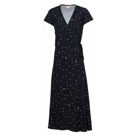 Femi Stories Letní šaty 'ELSA' černá / bílá / červená