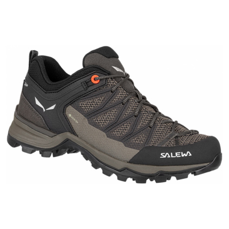 Salewa Mtn trainer lite GTX, Wallnut/Fluo Coral Dámské boty