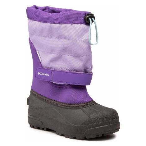 Sněhule COLUMBIA - Youth Powderbug Plus II BY1326 Emperor/Paisley Purple 513