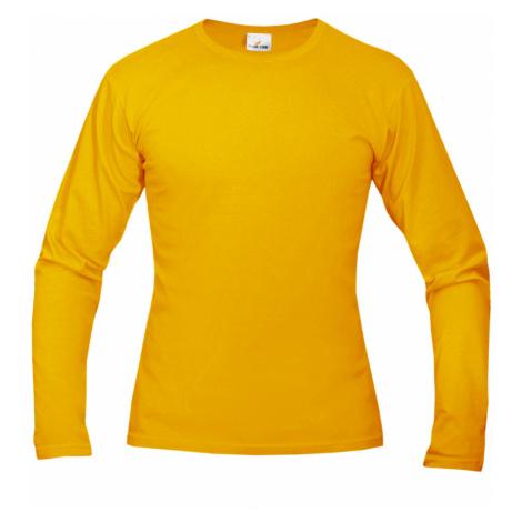 Tričko pánské AF long dlouhé - Žluté
