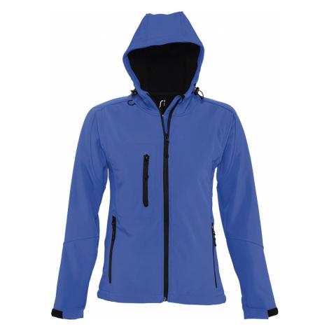 SOĽS Dámská softshellová bunda REPLAY WOMEN 46802241 Royal blue SOL'S