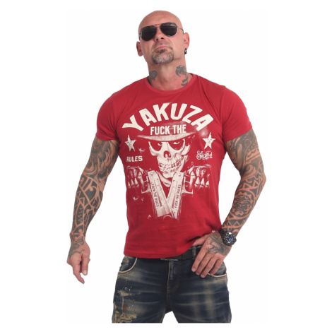 Tričko Yakuza Rules