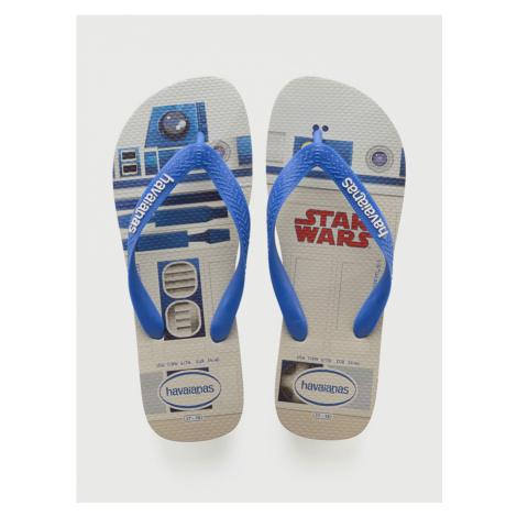 Žabky Havaianas Star Wars White/Blue Star Bílá