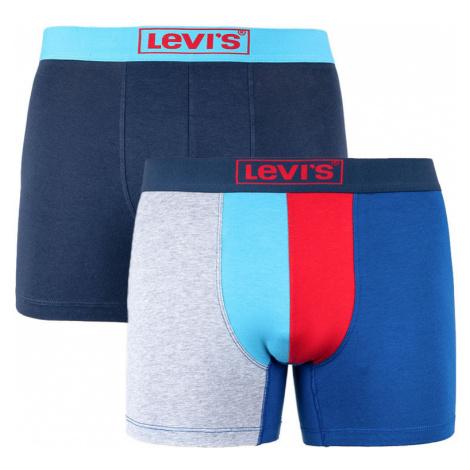 2PACK pánské boxerky Levis vícebarevné (995012001 056) Levi´s