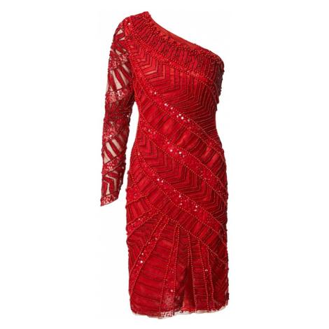 A STAR IS BORN Koktejlové šaty červená