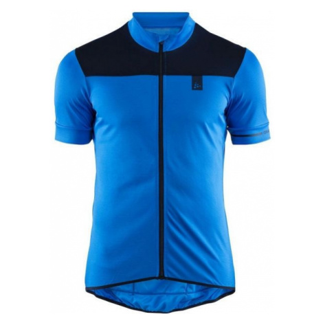 Craft POINT modrá - Pánský cyklistický dres