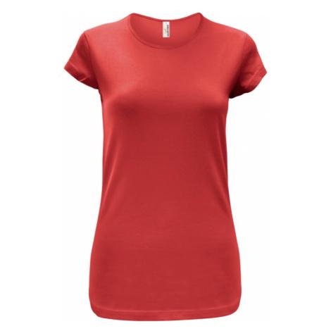 Tričko dámské AF CA - Červená
