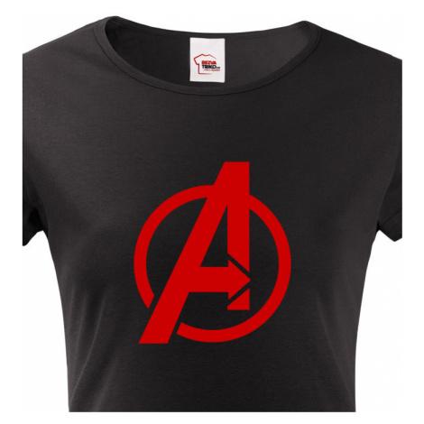 Dámské tričko s populárním motivem Avengers BezvaTriko