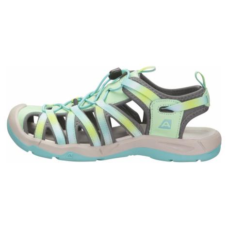 Dětské sandály Alpine Pro LANCASTERO - světle zelená