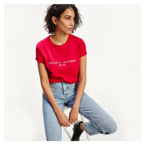 Tommy Hilfiger dámské růžové triko