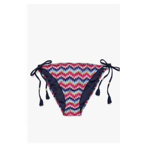 Koton Women's Mixed Low Waist Pattern bikini bottom
