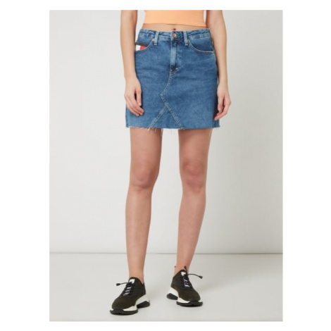Tommy Hilfiger Tommy Jeans dámská denim sukně SHORT DENIM SKIRT SVMDR