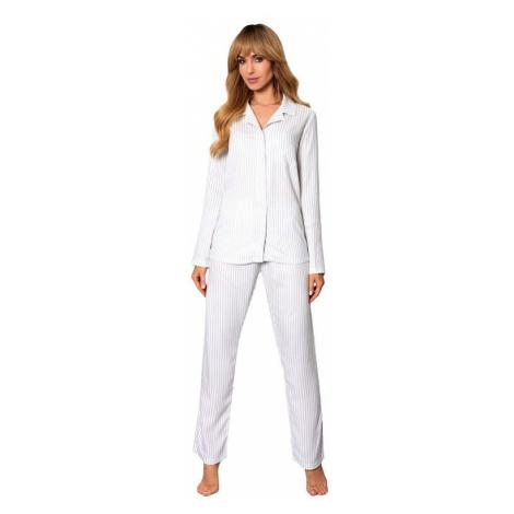 Klasické dámské pyžamo Anna pruhy Rossli
