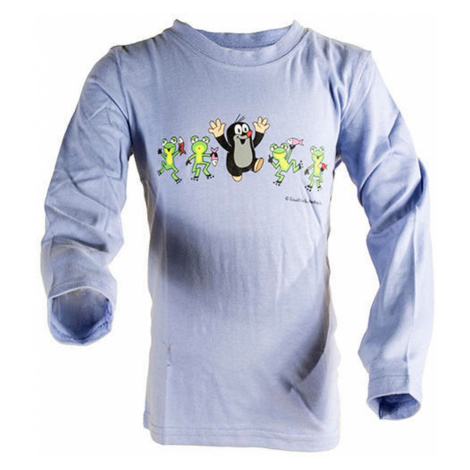 tričko chlapecké KRTEK FROG, Pidilidi, 2013, modrá