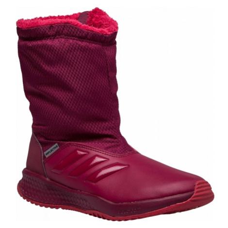 adidas RAPIDASNOW K červená - Dětská zimní obuv
