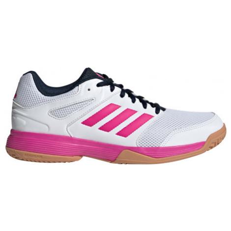 Dámská sálová obuv adidas Speedcourt W White/Pink - EUR 39,