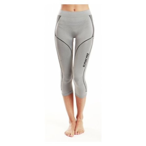 Dámské spodní kalhoty Alpine Pro AMICO - světle šedá