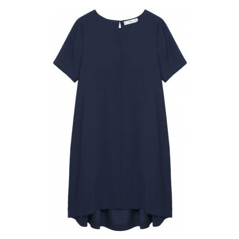 MANGO Šaty 'BYEC-H' noční modrá