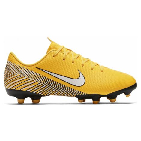 Dětské kopačky Nike Mercurial Vapor 12 Academy Neymar MG Žlutá / Černá