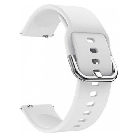 4wrist Silikonový řemínek - Bílý 20 mm
