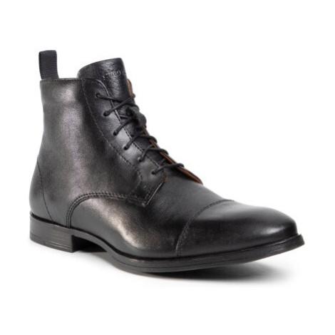 Šněrovací obuv Gino Rossi MB-JEREMY-32 Přírodní kůže (useň) - Lícová