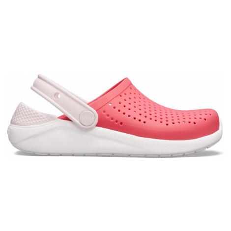 Crocs LiteRide Clog K Poppy/White