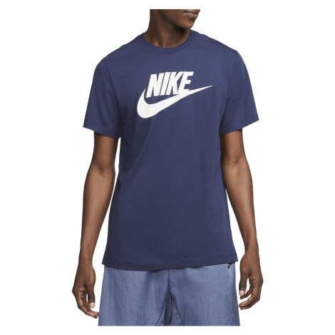 Tričko Nike Futura Icon Tmavě modrá / Bílá