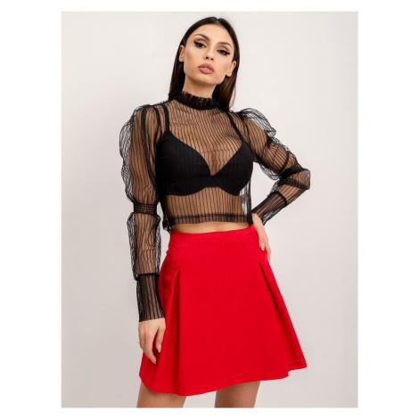 Corduroy sukně červená BSL FPrice