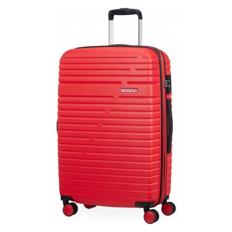 American Tourister Cestovní kufr Aero Racer EXP 61G 66,5/75,5 l - červená