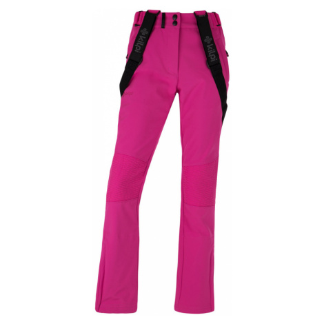 KILPI Dámské softshellové lyžařské kalhoty DIONE-W HL0013KIPNK Růžová