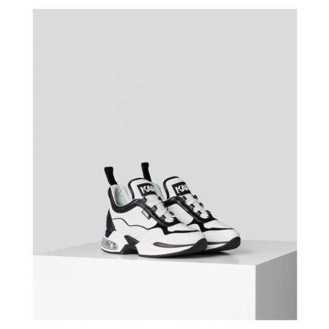 Tenisky Karl Lagerfeld Ventura Lazare Mid Ii Lthr - Bílá
