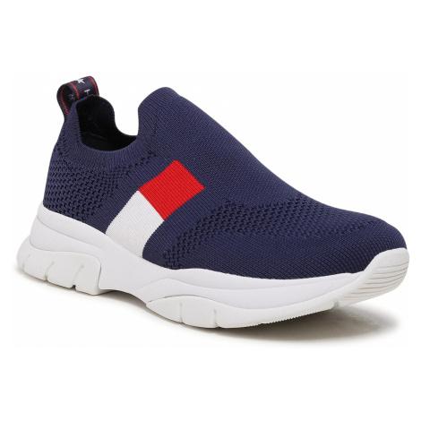 Sneakersy TOMMY HILFIGER - Low Cut Sneaker T3A4-31030-0702 S Blue 800