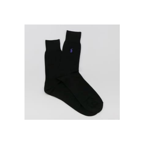 Polo Ralph Lauren Fil d'Ecosse Socks černé