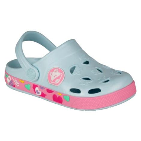 Coqui FROGGY béžová - Dětské sandály