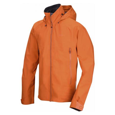 Husky Nakron M, tm. oranžová Pánská outdoor bunda