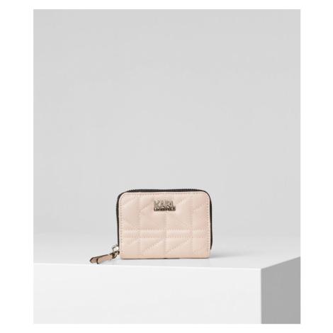 Peněženka Karl Lagerfeld K/Kuilted Small Zip Wallet