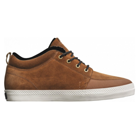 Boty Globe GS Chukka brown-black-wool