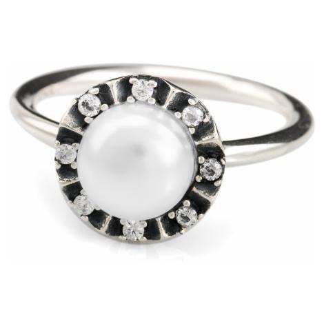 iocel.cz Stříbrný prsten Perla IPR011 Velikost: 56