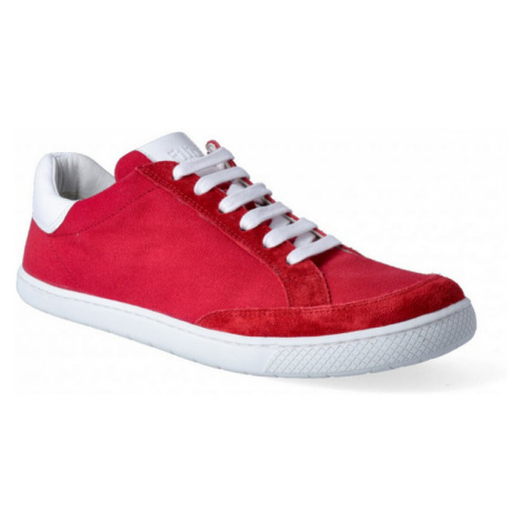 boty Filii LOVE YOU velours/canvas red 68862-66)