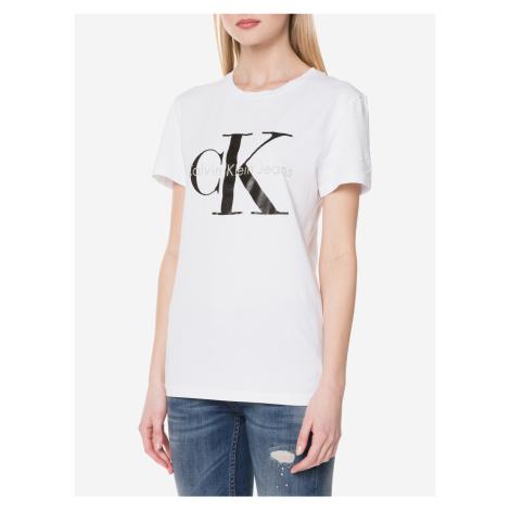 Triko Calvin Klein Bílá