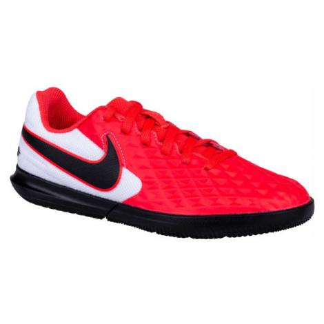 Nike JR TIEMPO LEGEND 8 CLUB IC červená - Dětské kopačky