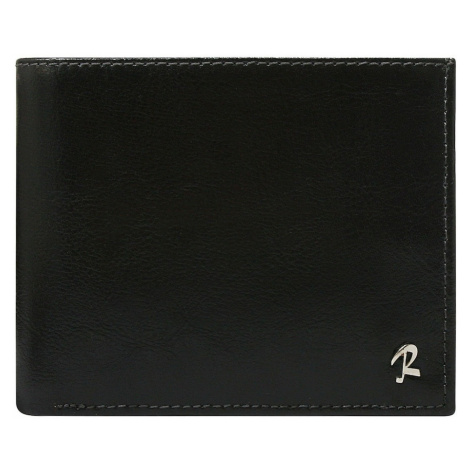 Black genuine leather wallet with RFID protection Fashionhunters