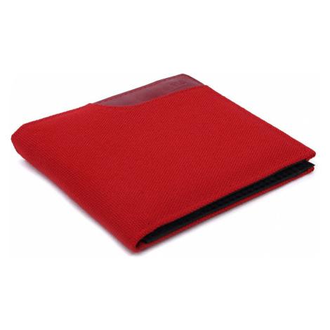Červená textilní peněženka Quentrell HG Style