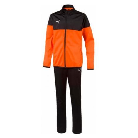 Puma ftblPLAY TRACKSUIT JR oranžová - Chlapecká sportovní souprava