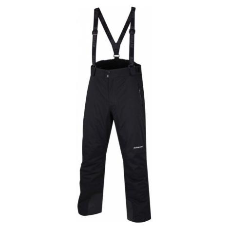 Pánské lyžařské kalhoty Alpine Pro MER DE GLACE - černá