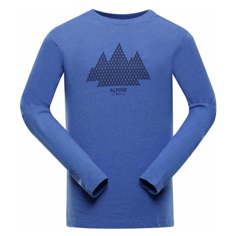 Pánské triko Alpine Pro GEN - tmavě modrá