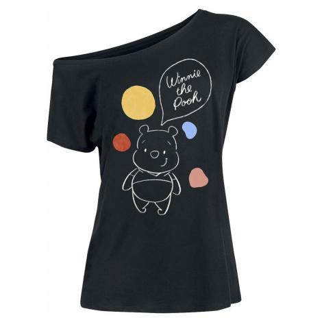 Winnie The Pooh Bubbles Dámské tričko černá