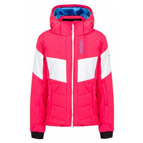 Lyžařská bunda Descente HARLEY JUNIOR růžová