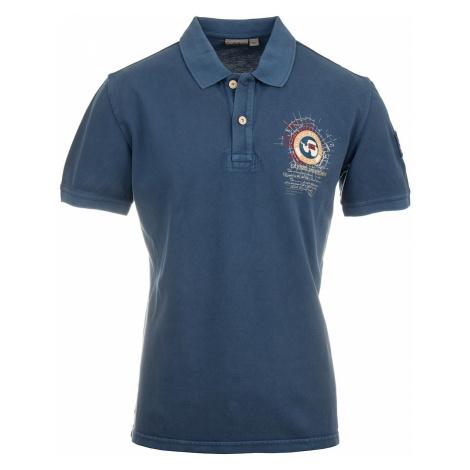 Napapijri pánské polo tričko tmavě modré