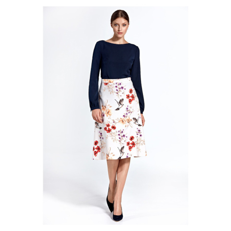 Colett Woman's Skirt Csp05 Pattern Ecru
